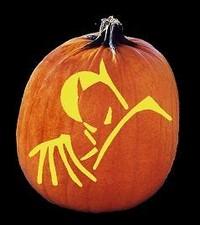 batman pumpkin carving