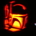 boba fett pumpkin