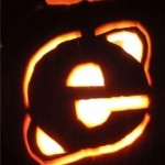 internet explorer browser pumpkin