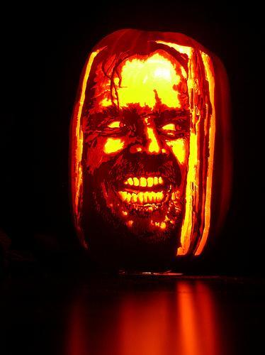 jack nicholson shining pumpkin