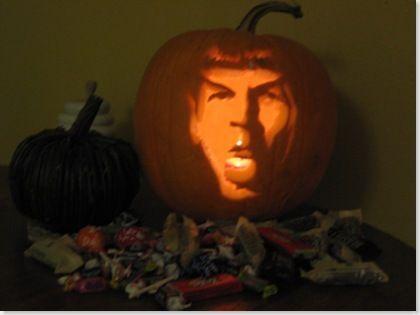 spock pumpkin