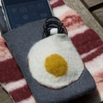 bacon and eggs breakfast iphone cases