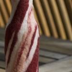 bacon bottle sleeve
