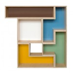 Tetris Wall Shelves to Fill up your Empty Walls2