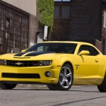 chevy camaro bumblebee transformer new vehicle