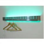 cool coat rack led light