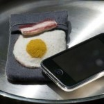 cool iphone case bacon and eggs