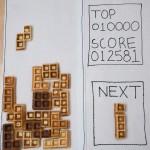 cool tetris waffle design