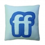 friendfeed icon pillow design