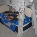 geek star wars bed at at