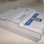 mini super nintendo papercraft