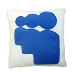 myspace logo pillow design