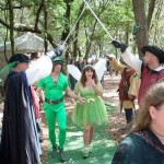 peter pan and tinkerbell wedding
