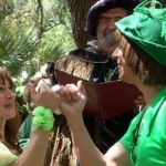 funny wedding peter pan tinkerbell tie the knot