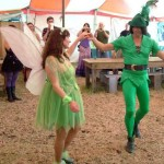cool wedding peter pan wedding with tinkerbell