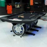pool table modification from car parts