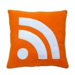 rss icon pillow design