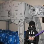 star wars darth vader at at bed
