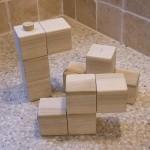 tetris design salt pepper shaker set