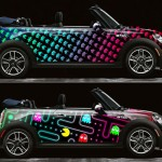 Pac-man and Space Invaders areTaking Over Mini Coopers; Better Watch Out1