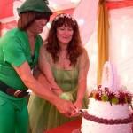 wedding theme tinkerbell peter pan wedding