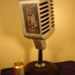 computer pc mod giant microphone