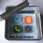 cool fridge magnets of iphone icons