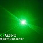 cool green laser pointer