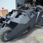 dark knight batmobile go kart