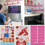 donkey kong decals wall graphics