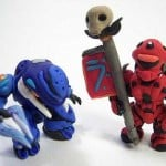 halo clay figurines