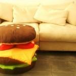 hamburger-cushions