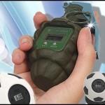 hand grenade alarm clock