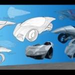 new hawk conceptual car design