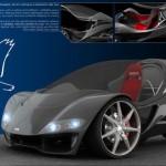 cool conceptual car design the hawk