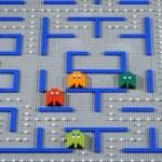 lego pacman 8 bit video