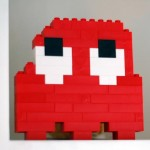 cool lego pacman game art
