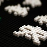 cool lego space invaders art