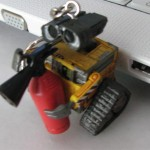 cool wall e character usb flash drive