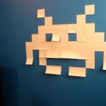 Post It The Space Invaders Stlye1