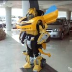 real-bumblebee-transformers-costume