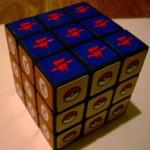 starfox logo rubiks cube design