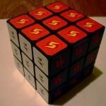 cool metroid samus rubiks cube toy