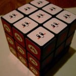 cute kirby rubiks cube toy