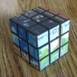 super mario bros rubiks cube game