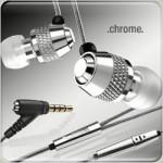 v moda chrome earphones set