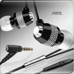 v moda nero earphones set
