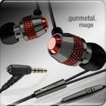 v moda rouge earphones set