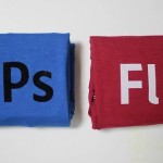 Adobe Photoshop & Flash Icons T-Shirts Are Very Geeky1