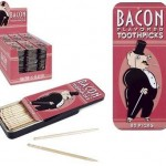 bacon flavored toothpicks accessory